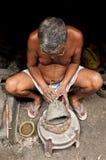 gliniany durga idolów puja obrazy royalty free