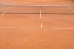 gliniany dworski tenis Zdjęcie Royalty Free