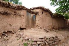 Gliniany Hovel, Hissar Góry, Uzbekistan fotografia stock