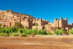 Gliniany miasto w północy Afryka Fotografia Royalty Free