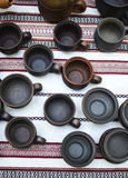 Gliniany tableware Zdjęcie Royalty Free