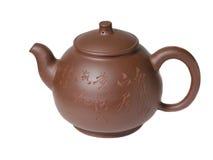 Gliniany teapot dla herbaty w Chińskim stylu zdjęcia stock