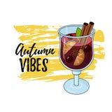 Glintwein de vin chaud illustration libre de droits
