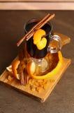Glintwein served Stock Image