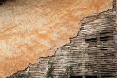 Gliny ściana Zdjęcia Stock