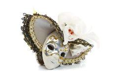Gliny maska z kapeluszem Obraz Royalty Free