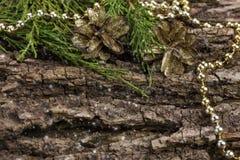 gliny namułowej Świąt tła stworzyli ilustrator dekoracyjnego zdjęcie Obraz Stock