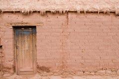 gliny namułowej dom Zdjęcia Stock