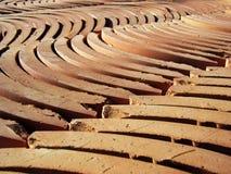 gliny namułowej kafli. zdjęcie stock