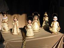 gliny narodzenie jezusa Fotografia Royalty Free