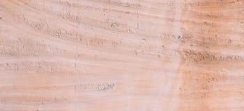 Gliny tekstury sztandaru ścienny tło Zdjęcie Royalty Free