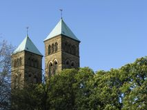 Église, basse-saxe, Allemagne Image libre de droits