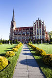 Église catholique belarus Photo stock