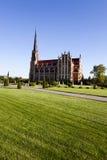 Église catholique belarus Photographie stock libre de droits