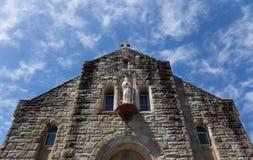 Église catholique. Compartiment de Watsons. l'Australie. Images libres de droits