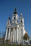 Église catholique romaine, Sivac, Serbie Images libres de droits