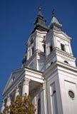 Église catholique romaine, Sivac, Serbie Photos stock