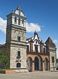Église coloniale antique Images stock