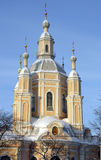 Église d'Andrew de saint à St Petersburg Photographie stock libre de droits