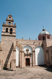 Église d'EL Carmen, Morelia (Mexique) Photos stock