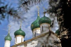 Église d'Élijah le prophète dans Yaroslavl Russie Images stock