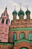 Église d'épiphanie dans Yaroslavl Russie Photographie stock libre de droits