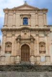 Église dans Noto Image libre de droits