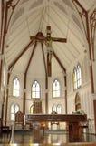 Église de cathédrale d'Arica Image stock