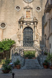 Église de Chiesa del Purgatorio Cefalu, Sicile Image stock