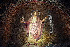 Église de Hagia Maria Sion Abbey en mont Sion l'Israël Jérusalem Photos stock