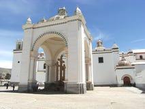 église de l'Amérique du sud Photos libres de droits