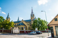 Église de Liepaja Image libre de droits
