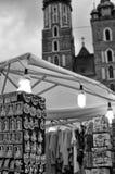 Église de Mariacki à Cracovie Image stock