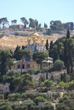 Église de Mary Magdalene, le mont des Oliviers Image libre de droits