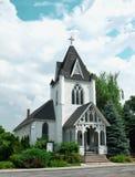 Église de pays Images libres de droits