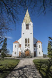 Église de Rolvsøy (ouest) (4) Photo libre de droits