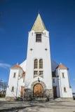 Église de Rolvsøy (ouest) (4) Image libre de droits