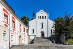 Église de rue Adalbert Image libre de droits