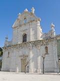 Église de rue Domenico. Trani. Apulia. Photo stock