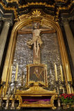 Église de rue Mary - Cracovie - Pologne Image libre de droits