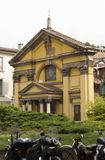 Église de Santa Maria Podone à Milan Images libres de droits