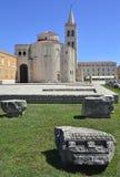 Église de St Donatus dans Zadar Photographie stock