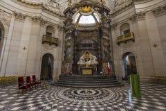 Église de Val de Grace, Paris, France Image libre de droits