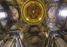 Église du Gesu, Rome, Italie Image libre de droits
