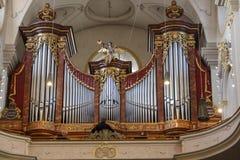 Église du ` s de St Peter à Munich, Allemagne, 2015 Images stock