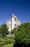 Église et jardin de Templar Photographie stock libre de droits