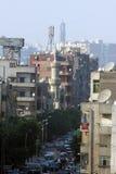Église et mosquée en Egypte Image libre de droits