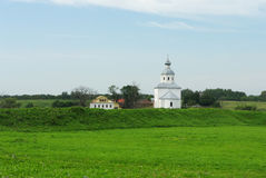 Église isolée Photo libre de droits