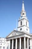 Église Londres de rue Martins Image libre de droits