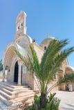 Église orthodoxe grecque de rue Jean-Baptist Photographie stock